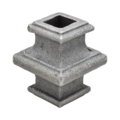 Cast Steel Knuckle. 1-3/4 Height. Fits 12mm Square.