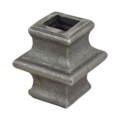 "Cast Steel Knuckle. 1-3/4"" Height, Fits 9/16"" Square."
