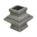"Cast Steel Knuckle. 1-3/4"" Height, Fits 5/8"" Square."