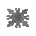 "Forged Steel Base Plate, 5-1/2"" Sq"