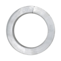 "[B] Aluminum Square Bar Ring. 3-15/16"" Diameter."
