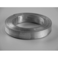 "[B] Aluminum Square Bar Ring. 4-1/4"" Diameter."