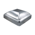 "Pressed Aluminum Post Cap, Fits 4"" Square"