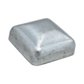 "Galvanized Steel Post Cap. Fits 1"" Square"