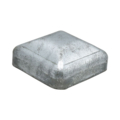 "Galvanized Steel Post Cap. Fits 1-1/4"" Square"