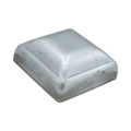 "Galvanized Steel Post Cap. Fits 1-1/2"" Square"