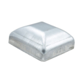 "Galvanized Steel Post Cap. Fits 2"" Square"