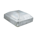 "Galvanized Steel Post Cap. Fits 3-1/2"" Square"