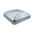 "Galvanized Steel Post Cap. Fits 6"" Square"