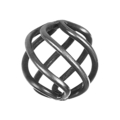 "Forged Steel Basket Round BarFilaments. 3/4"" Ends,2-3/4"" H"