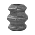 "Cast Iron Baluster Collar Fits1/2"" Round 1-5/8""H"