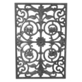 "Cast Iron Panel, Single Faced.15-13/16"" W, 23-9/16"" H"
