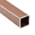 "Sq Tube 3/4"" x 14 ga, 24' RED Prime"