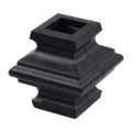 "Plastic Knuckle, 2 Halves. Fits 1/2"" Square"