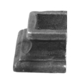 "Cast Steel Half Knuckle. Overays 5/8"" Square."