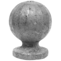 "Forged Steel Finial, 3-9/16"" Height, 2"" Diameter."