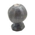"Forged Steel Finial, 1-9/16"" Height, 1"" Diameter."