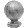 "Forged Steel Finial, 2-3/8"" Height, 1-5/8"" Diameter."