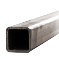 "Sq Tube 6"" x 3/16"" x 24 ft Bare"