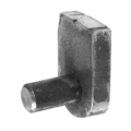 Non-Galvanized Weldable Hinge Pin.15/32""