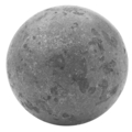 "Forged Steel Rough Textured Ball.  1-9/16"" Diameter."