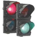 DK Red/Green Traffic Light Assembly