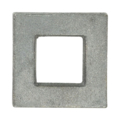 "Cast Iron Square. 2-1/8"" Height. Fits 1"" Square."