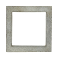 "Cast Iron Square. 4-1/8"" Height. Fits 3"" Square."