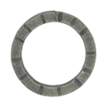 "6mm Scored Square Bar Ring. 2"" Diameter."