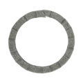 "6mm Scored Square Bar Ring. 2-3/8"" Diameter"