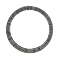 "6mm Scored Square Bar Ring. 2-7/8"" Diameter"