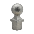 "Cast Iron Spear Round Ball Drive In 3/4"" Square"