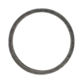 "[AA] Forged Steel Round Ring. 3-15/16"" Diameter"