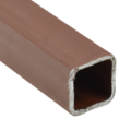 "Sq Tube 3"" x 14g x 24 ft RED Prime"