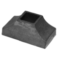 "Cast Iron Shoe Fits Over 1"" Square"