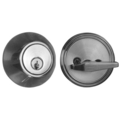 CAL Deadbolt, SC, Brushed Chrome