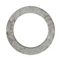 "12mmx8mm Seamless Solid Ring. 2-1/2"" Diameter."