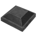 "Cast Iron Post Cap.  Fits 1-1//2"" Square."