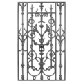 "Cast Iron Panel, Single Faced.20-1/2"" W, 35-1/2"" H"