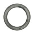 "[Z] Forged Steel Round Bar Ring. 3-1/4"" Diameter"