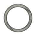 "[Z] Forged Round Bar Ring 3-15/16"" Diameter"