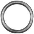 "[Z] Forged Steel Round Bar Ring 6"" Diameter"