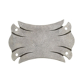 "Forged Steel Mounting Plate, 5-1/4"" W, 8"" H"