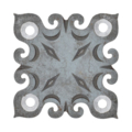 "Steel Decorative Base Plate, 2"" Base"
