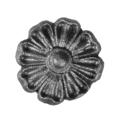 "Cast Steel Rosette. 2"" Diameter."