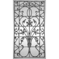 "CI Panel, MorningGlory.36-1/4"" H"