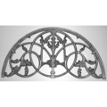 "Cast Iron Gate Crest          36-7/32""W 18-1/8"" H"