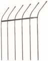 "Security Picket 3/4"" x 96""Bare, 8 Ft"