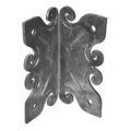 "Forged Steel Arbor Bracket,4-9/16"" W, 8-11/16"" Height"