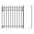 "Gate Upright, 1.5"" x 73"""